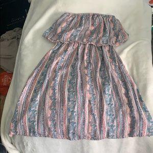 Mini dress sleeveless